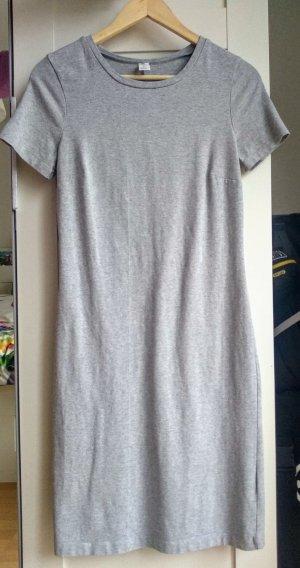 Old Navy Vestido de tela de sudadera gris claro