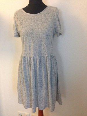 Lässiges Kleid, grau meliert von Primark