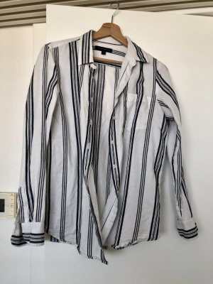 Lässiges Leinen-Baumwoll-Hemd