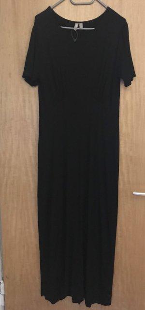 asos curve Vestido largo negro