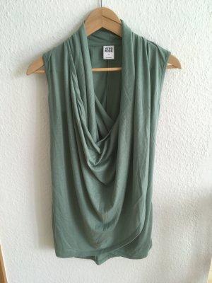 Vero Moda Cowl-Neck Top lime-green