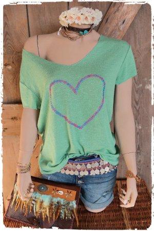 lässiges oversize shirt boho hippie ibiza
