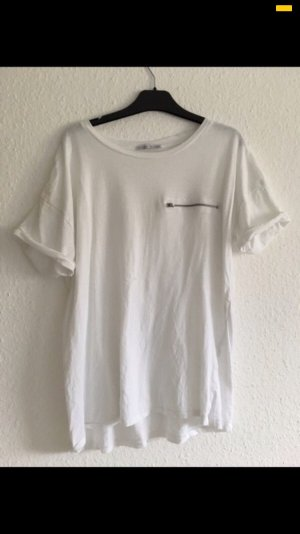 Zara Oversized Shirt white