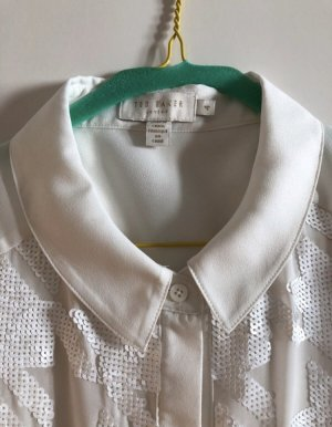 Ted baker Mouwloze blouse wit Polyester