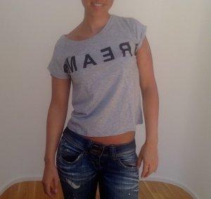 lässiges Print-Shirt von NafNaf aus Paris, Größe XS