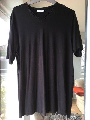 Lässiges Schwarzes T-Shirt