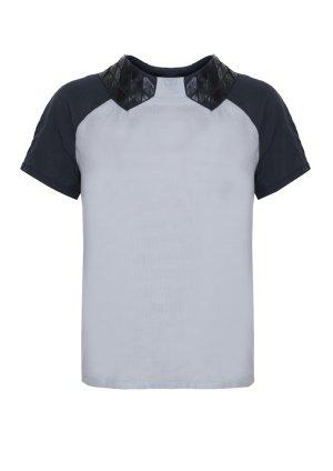 Blusa grigio chiaro-antracite Viscosa