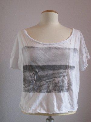 lässiges Shirt mit bedruckter Vorderseite