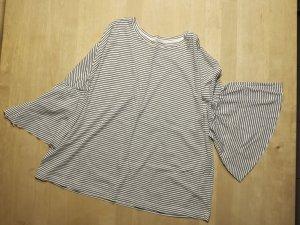 Lässiges Shirt mit weiten Bonbon-Ärmeln