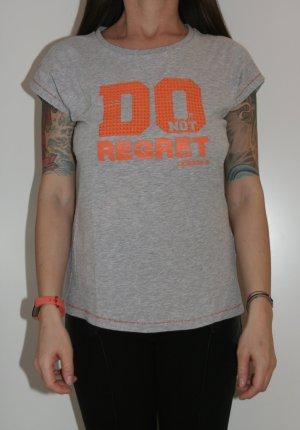 Adidas NEO Camisa naranja neón-gris claro