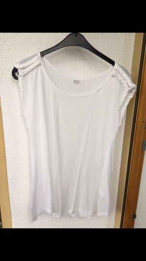 lässiges Shirt von s.oliver mit Kordelborte 40/42 in weiß