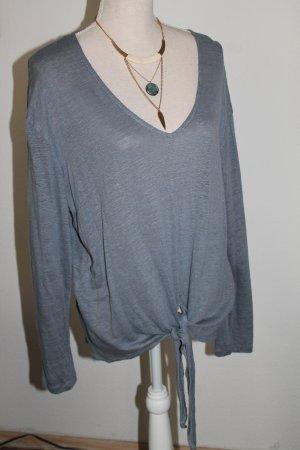 H&M Longsleeve slate-gray