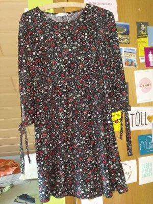 Mango Shirt Dress multicolored mixture fibre