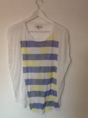 Lässiges Sommershirt, weit geschnitten, leichter Stoff