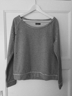Lässiges Sweatshirt in grau