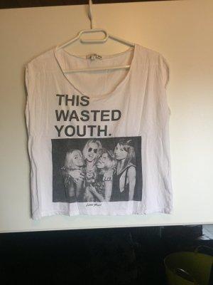 Lässiges T-Shirt mit Bild