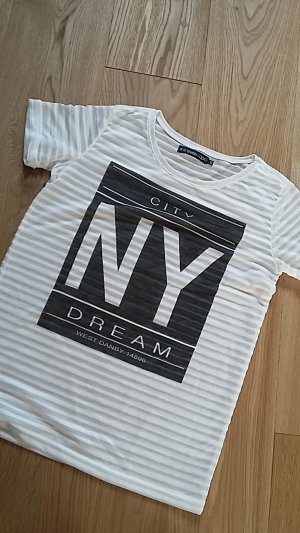 Lässiges transparentes NYC T-Shirt even&odd