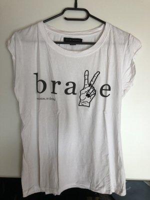 Lässiges weißes T-Shirt