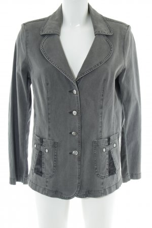 Lafei.Nier Denim Blazer light grey casual look