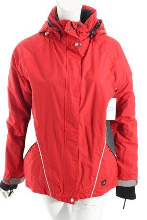 Lafuma Veste d'extérieur rouge style décontracté