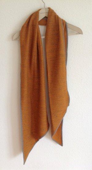 Lagenlook Esprit Schal Tuch Orange Terrakotta Neu