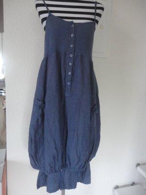 Lagenlook-Leinenkleid in Gr. XL