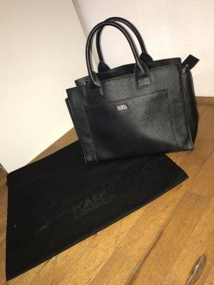 Lagerfeld Handtasche schwarz
