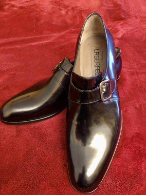 Karl Lagerfeld Slip-on Shoes black leather