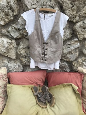 3 Suisses Giacca corta marrone-grigio