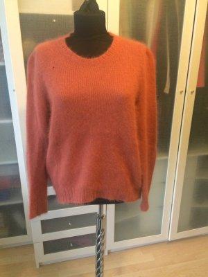 LALA BERLIN Angora Pullover Gr. S rost
