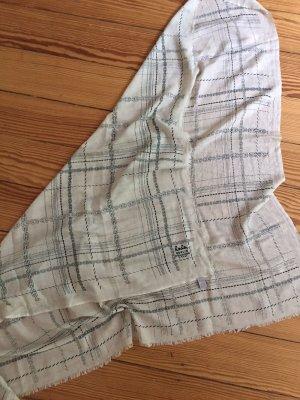 LALA BERLIN Cube Seidentuch Tuch Schal Seide Cashmere - Ketten-Print