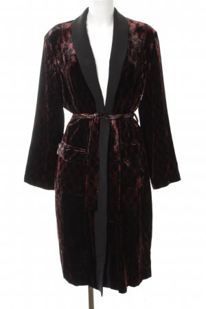Lala Berlin Frock Coat black-red allover print elegant