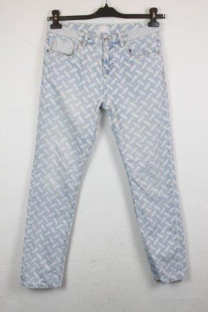 Lala Berlin Jeans Gr. 27 gemustert   Modell: Bruna Kuffieh Light Blue (MF/SC/R)