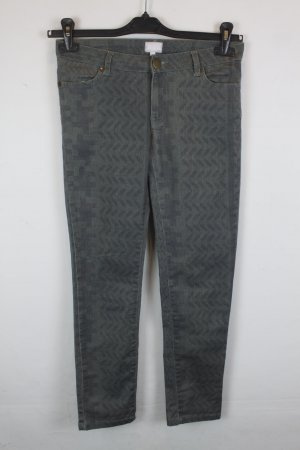 Lala Berlin Jeans skinny gris coton