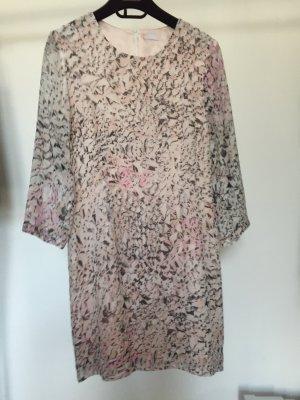 Lala Berlin Kleid Rosé mit grafischem Print