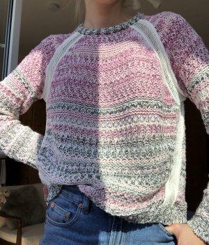 Lala Berlin Pull en crochet rose coton