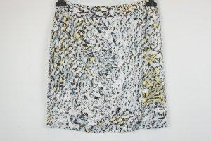 Lala Berlin Rock Minirock Gr. M weiß schwarz gelb