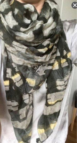 Lala Berlin Zijden sjaal khaki