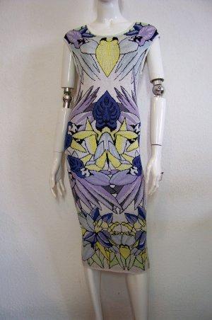 LaLa Berlin sehr feminines Kleid Strickleid gemustert