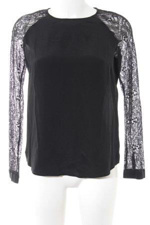 Lala Berlin Kanten blouse zwart elegant