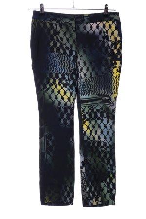 Lala Berlin Stoffhose abstraktes Muster sportlicher Stil