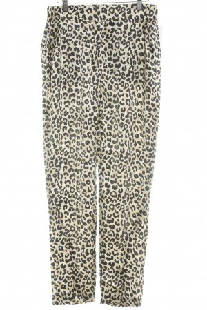 Lala Berlin Jersey Pants black-gold-colored leopard pattern casual look