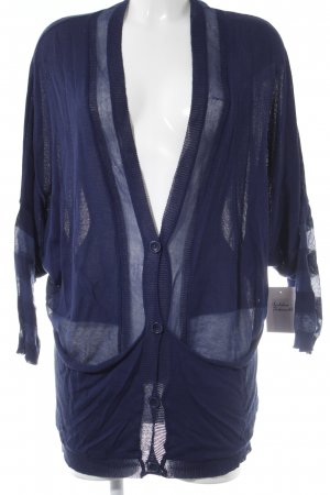 Lala Berlin Strickjacke blau Casual-Look
