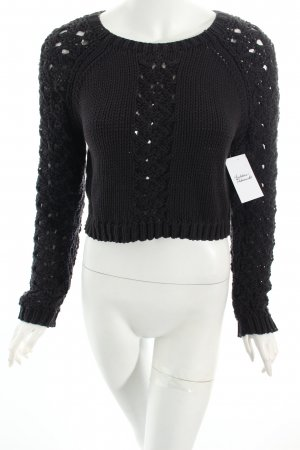 Lala Berlin Strickpullover dunkelblau Street-Fashion-Look
