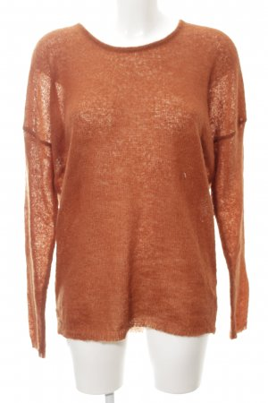 Lala Berlin Strickpullover dunkelorange Casual-Look