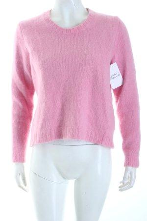 Lala Berlin Strickpullover rosa Kuschel-Optik