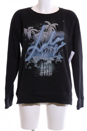 Lala Berlin Sweatshirt Motivdruck Casual-Look