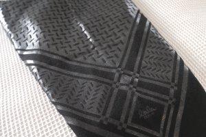 Lala Berlin Sjaal van kasjmier zwart-zilver