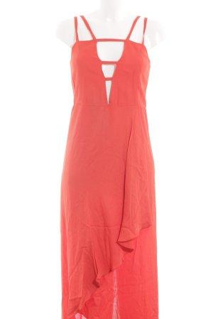 Lala Berlin Volante jurk rood elegant
