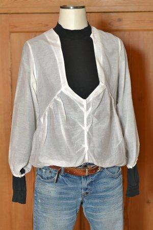 LALA BERLIN zartes Shirt Bluse XS/S Seide Cotton 3/4 Arm